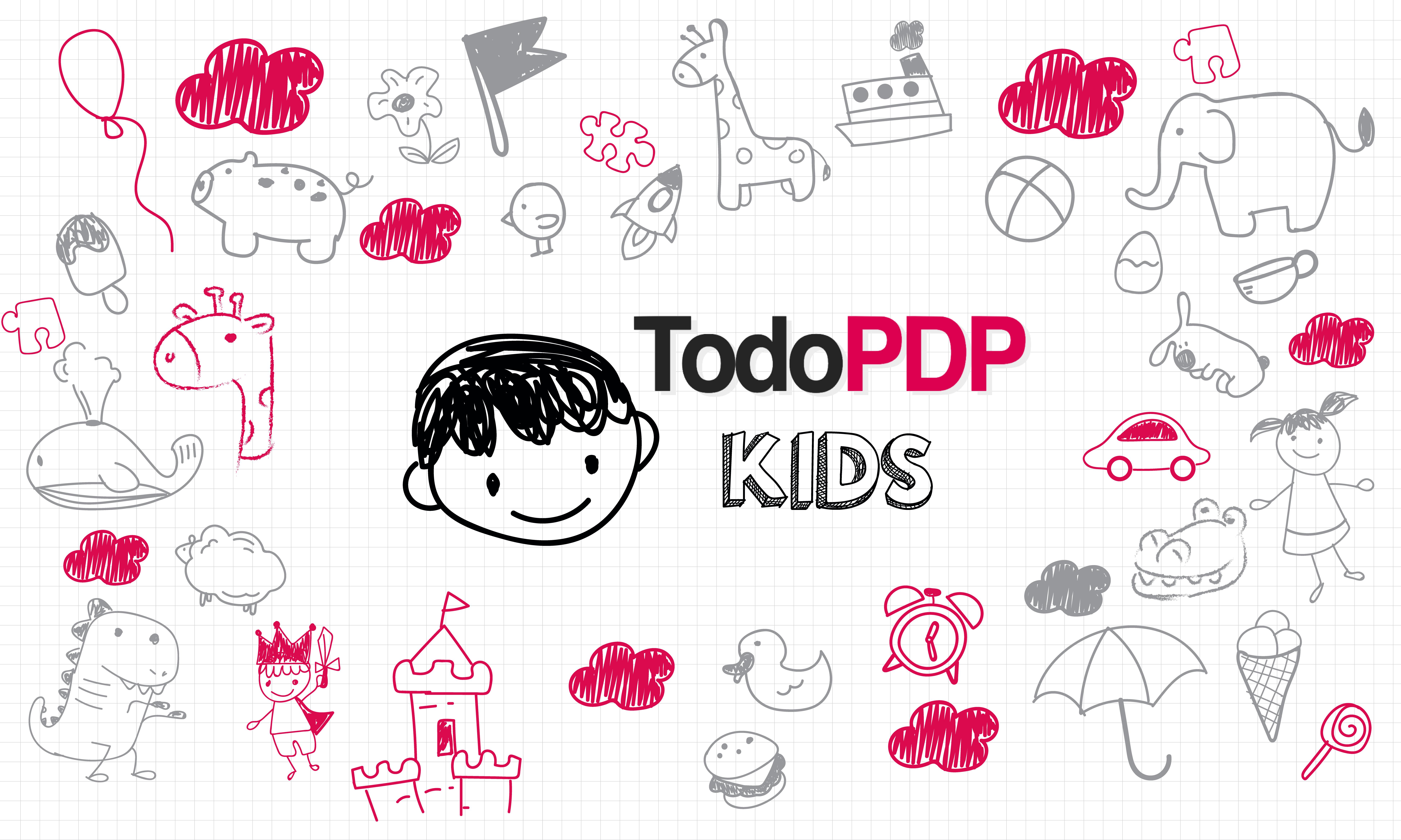 TodoPDP Kids un espacio para los niños