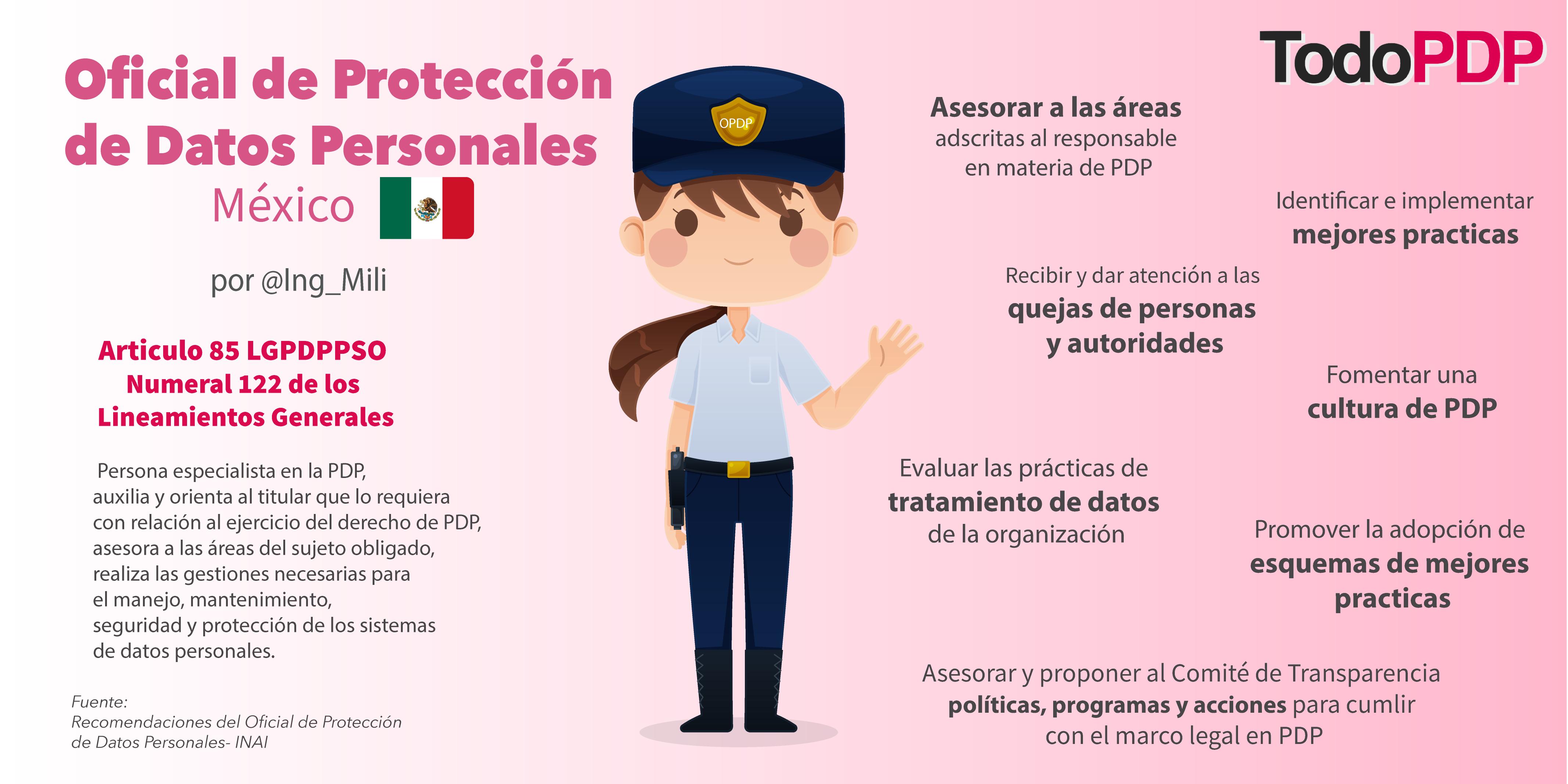 El Oficial de Protección de Datos Personales en México