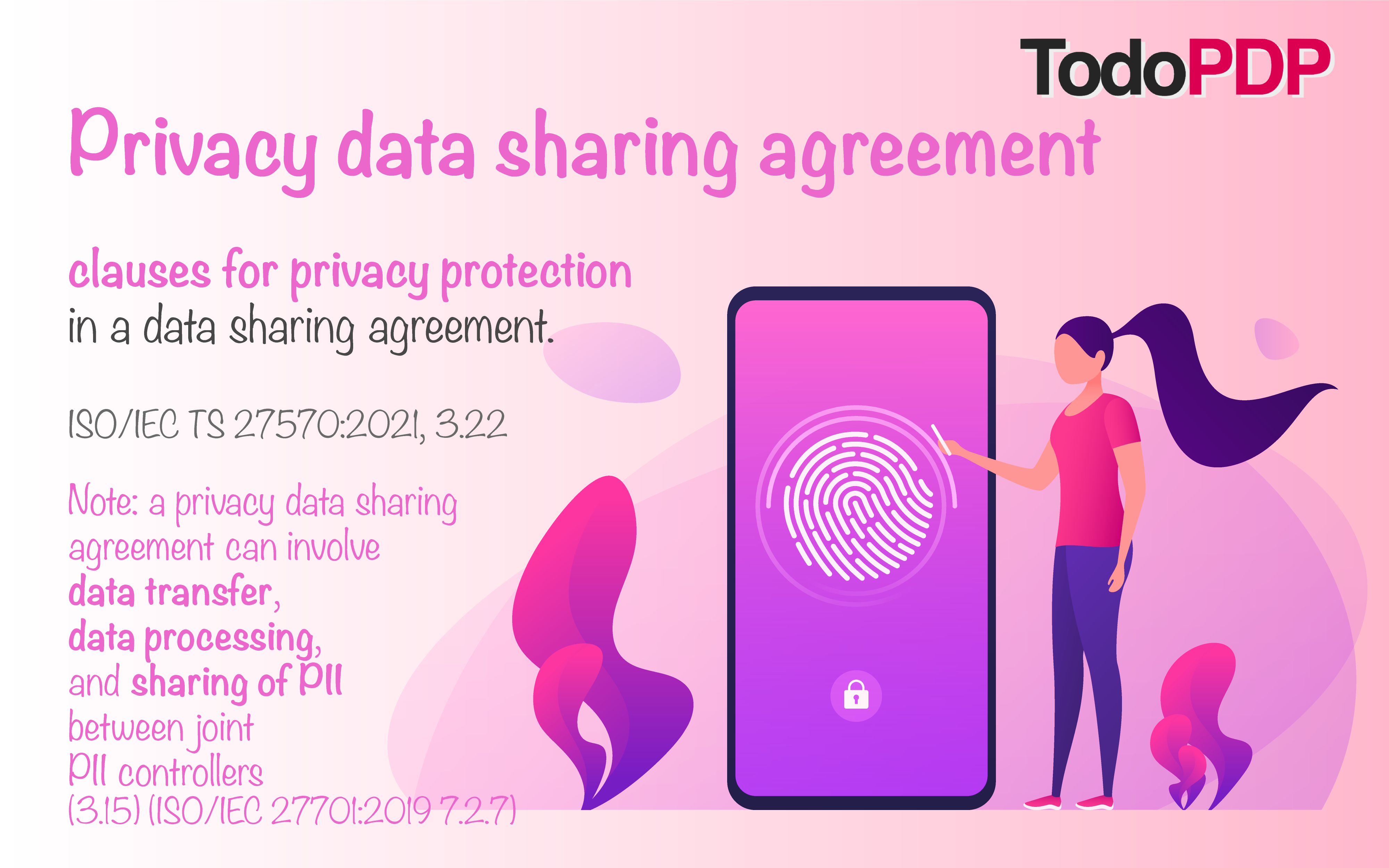 Privacy data sharing agreement